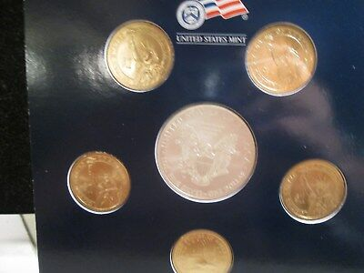 2008 Us Mint Annual Unc Dollar Coin Set Opened Xx