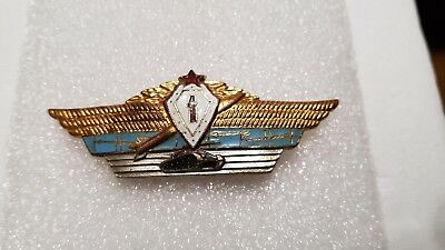 ICON USSR RUSSIAN SOVIET BADGE ARMY SPECIALIST OFFICER 1 class CHEAP TANK