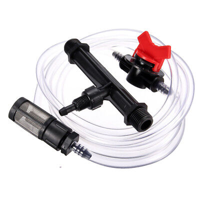 3/4 In Garden Irrigation Device Venturi Fertilizer Injector Switch Water Durable