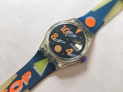 "RARE VINTAGE SWATCH STOP WATCH ""MOVIMENTO"" SSK102 MENS/LADIES/GIRLS/BOYS Perfect"