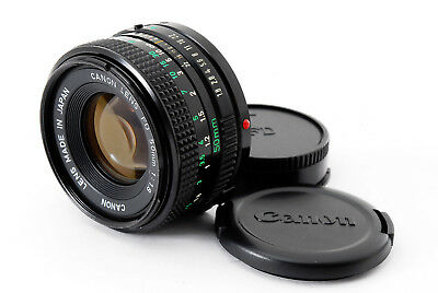 **AS IS** Canon New FD 50mm F/1.8 NFD MF Prime Lens FD-mount Japan A0066