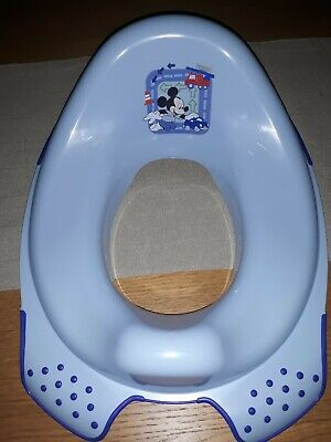 Mickey Mouse Blue Toilet Seat