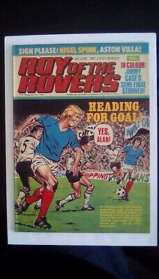 Roy of the Rovers. 4th June 1983. Nigel Spink Centrefold