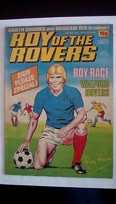 Roy of the Rovers. 28th May 1983. Garth Crooks Centrefold
