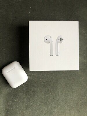 Apple airpods charging case and box, genuine