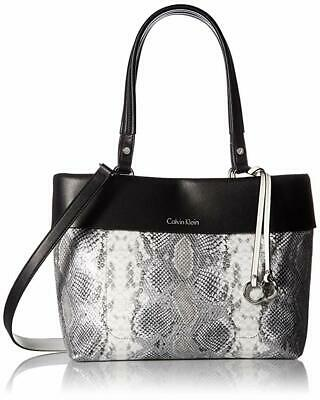 Calvin Klein Patty Exotic Faux Leather East/West Tote Womens Bags & Handbags