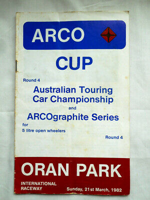 Motor Race Program - 1982 Oran Park - ATCC