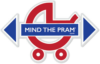 Mind The Pram, Baby Car Seat Awareness Sticker