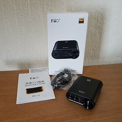 FIIO K3 PORTABLE Headphone Amplifier AMP DAC DSD 384kHz/32bit USB-C Balanced