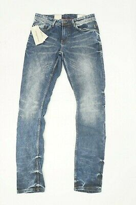 Tom Tailor Denim Herren Jeans Hose CULVER SKINNY used look blau 30 / 32 #2060