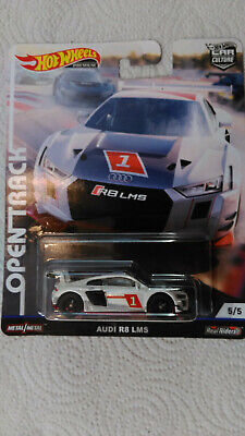 2019 HOT WHEELS Car Culture OPEN TRACK AUDI R8 LMS