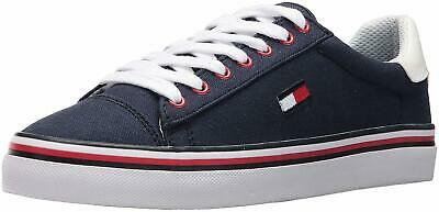 94d68f6c TOMMY HILFIGER WOMENS Fressian Fabric Low Top Lace Up Fashion, White ...