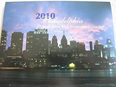 2010- Denver and Philadelphia United States Mint Uncirculated Coin Set