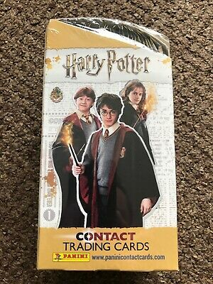PANINI HARRY POTTER CONTACT TRADING CARDS FULL BOX 24 Packets