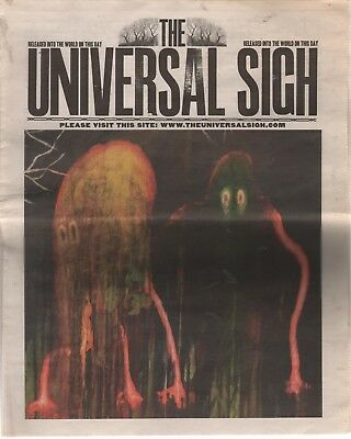 The Universal Sigh Radiohead Newspaper King of Limbs RAGNOROCK