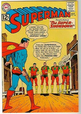 DC Comics SUPERMAN  VFN- 8.0 153  1962 glossy cover high grade
