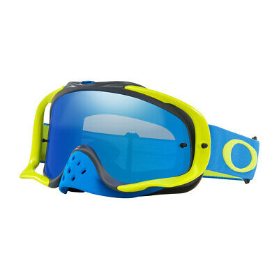 Oakley Crowbar MX Goggle Black Ice Irdium Lens Inc Clear Lens/MOTOCROSS/00702567