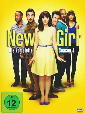 NEW GIRL vierte Staffel 4 SEASON four DVD Neu OVP SIXX