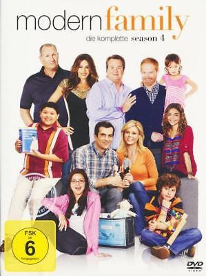 MODERN FAMILY vierte Staffel 4 SEASON four DVD Neu OVP