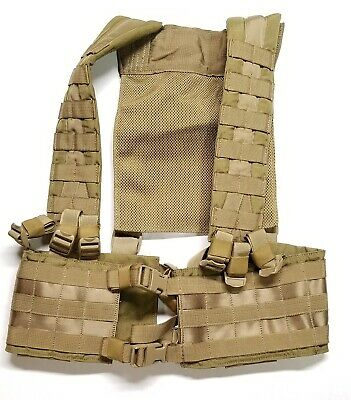 EAGLE INDUSTRIES H Harness Khaki Sflc Hg-Vs-Ms-Kh Chest Rig Seal Cag