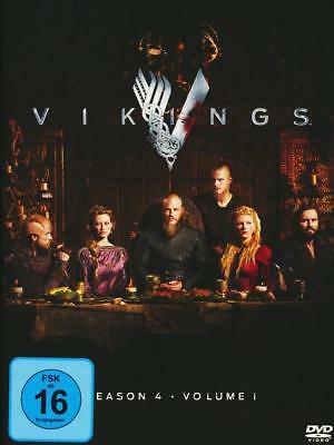VIKINGS vierte Staffel 4 Season four Volume 1 4.1 DVD Neu OVP