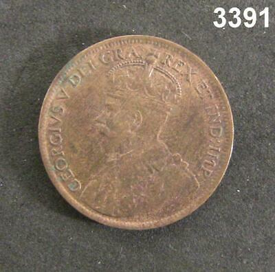 1916 Canada One Cent Au+! #3391
