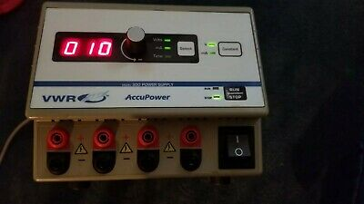VWR ACCUPOWER 300 PRECISION LABORATORY POWER SUPPLY working clean psu