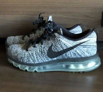 competitive price 21af7 48169 Nike Flyknit Max Women s Size 8 White Black Oreo (620659-105)