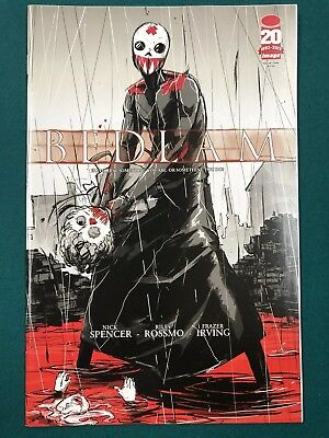 Bedlam #1 - RARE - Rossmo Special Edition Variant - Nick Spencer NM+