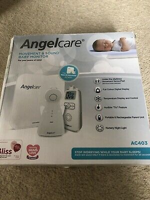 Angelcare AC403 Baby Movement Monitor, with Sound
