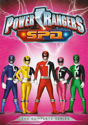 Power Rangers: S.p.d. (The Complete Series) (Keepcase) (Dvd)