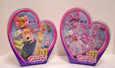 Cutie Pops Doll Clothes Fashion Packs Day In the Park & Party Evening Wear New