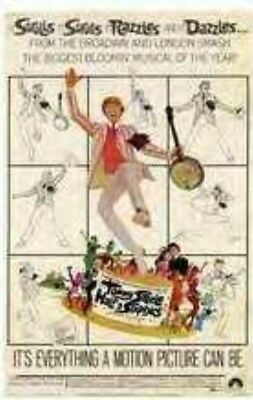 Half A Sixpence (1968) Tommy Steele Musical Free P&P DISC ONLY! Public Domain