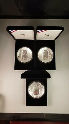 2019 Apollo 11 50th Anniversary Proof 5oz Silver Dollar USMINT19CH