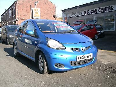 2009 (09) TOYOTA AYGO BLUE 1.0 VVTi 5 DOOR ** ONLY 35,000 MILES * FULL HISTORY *
