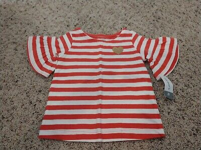 Girls Short Sleeve Shirt From Carter's Size 2t NWT
