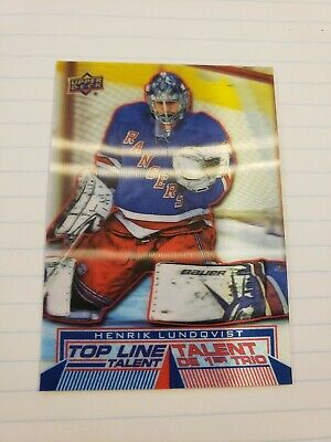 Henrik lundqvist Top Line Talent 2018-19 Tim Hortons By Upper Deck