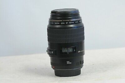 Canon EF 100mm F2.8 USM Macro Lens with Cap