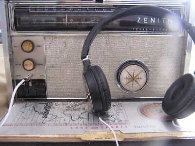 Zenith Transoceanic 3000 7000, Royal 2000 and others Headphones NEW!