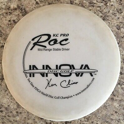Kc Pro Roc Innova Ten Time 10 X Disc Golf Frisbee Rare Mid Range Stable Driver