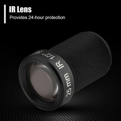 For Gopro Lens IR Night Vision Fixed M12x0.5 IP Camera 9.33mm BFL 5MP Brand New