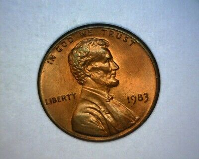 1983 Lincoln Cent Double Die Reverse, Fs-801,  Die 1 **Rare** Us Error Coin