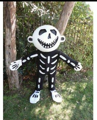 Halloween Prop - Skeleton Boy - Approx 4ft  - Great for Haunted House