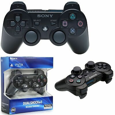 Sony PlayStation 3 Controller. Wireless Sony Dual Shock PS3 Game Pad