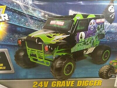 cce3650e0a38 Monster Truck Electric Kids Ride On Car Toy Great Gift Sound Lights 2 speed