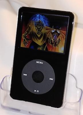 **ALL BLACK** Apple iPod classic 5th 5.5 Generation(256 GB SD) Wolfson DAC