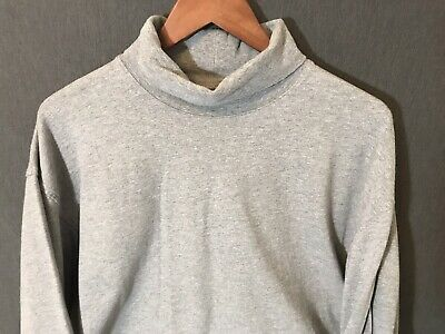 DULUTH TRADING CO MENS LONG TAIL T Long Sleeve GRAY Sz XL TURTLE NECK