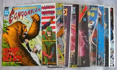 DC Comics,Bronze Age Lot of 12 Warlord, the Ray, Arion, Timber Wolf, More!!