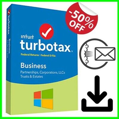 INTUIT INC  ✔️ TurboTax Business 2018 Windows Software Federal