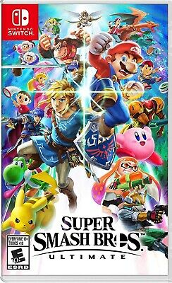 Switch Super Smash Bros. Ultimate NEW *Sealed*